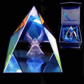 Guardian Angel Crystal Pyramid