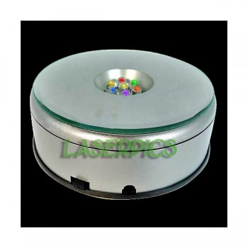 Rotating LED Light Base