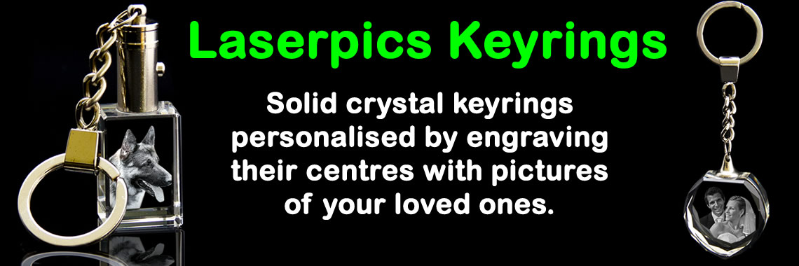 Laserpics Keyrings