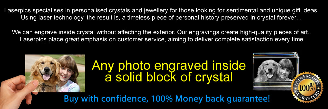Laserpics 3D Crystals
