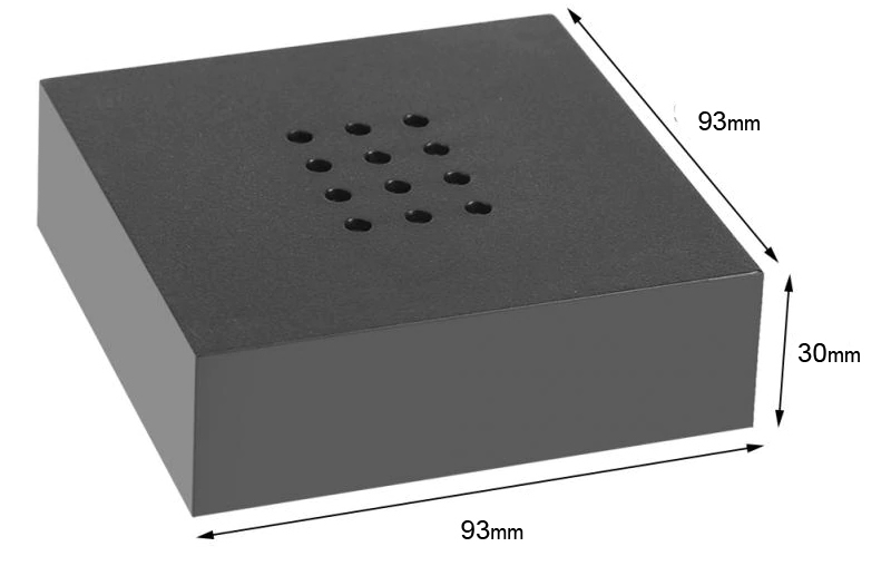 led display lightbase dimensions